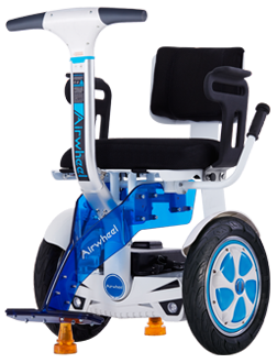 Airwheel A6T is a personal transport to help those people who have walking issues to go out easily.